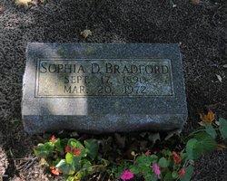 Sophia D Bradford
