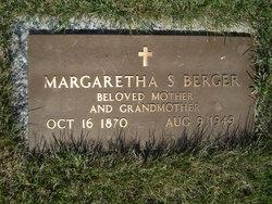 Margaretha Marie Caroline <i>Schultz</i> Berger