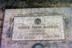 Arthur Ervin Blakeley