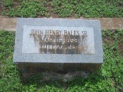 John Henry Bales, Sr