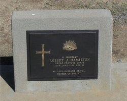 Sgt Robert J Hamilton