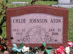 Chloe <i>Johnson</i> Aton