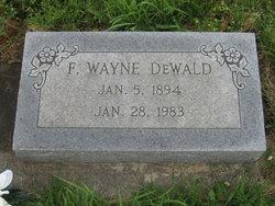 F Wayne Dewald