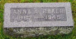 Anna A. <i>Morris</i> Baker
