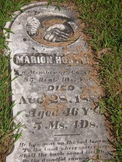 Pvt Marion Horton