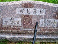 Lizzie D <i>Logsdon</i> Webb