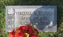 Virginia <i>Miller</i> Heiston