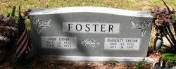 Harriett <i>Taylor</i> Foster