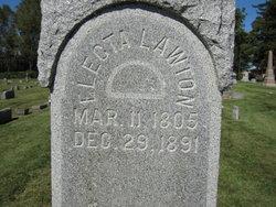 Electa Jane <i>Goodenough</i> Lawton