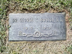 Dr George C. Boston
