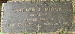 Marion Leslie Minor