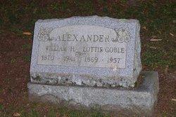 Charlotta Lottie <i>Goble</i> Alexander