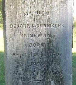 Deborah <i>Chambers</i> Brineman