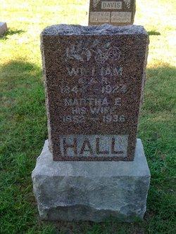 Martha Elizabeth <i>Webb</i> Hall