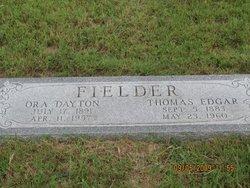 Thomas Edgar Ed Fielder, Sr