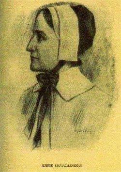 Anne <i>Marbury</i> Hutchinson