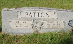 Eddie Lee Patton