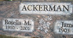 Rosella Marguerite <i>Fallert</i> Ackerman
