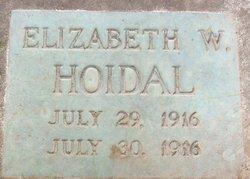 Elizabeth W. Hoidal