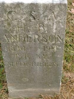 Pvt Henry B. Anderson