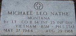 Lieut Michael Leo Nathe