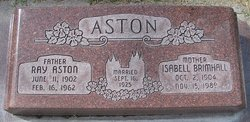 Isabell <i>Brimhall</i> Aston