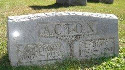 Lydia C. <i>Hartmann</i> Acton