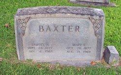 Samuel Almyre Baxter