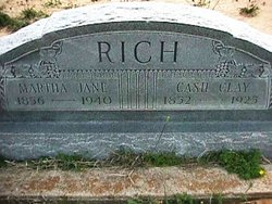 Martha Jane <i>Taylor</i> Rich