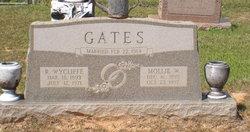 Mollie A. <i>Womack</i> Gates