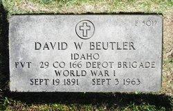 David W Beutler