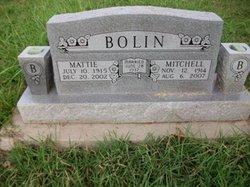 Mattie N. <i>Dougherty</i> Bolin