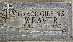 Grace <i>Gibbins</i> Weaver