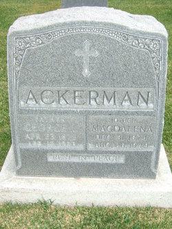 George L Ackerman