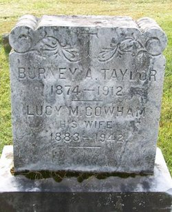Lucy M <i>Cowham</i> Taylor