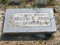 Kristine K <i>Jensen</i> Chambers