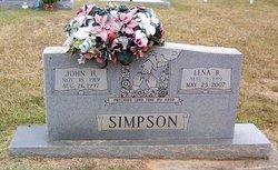 Lena B <i>Baucom</i> Simpson