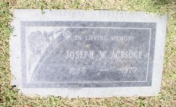 Joseph William Acridge