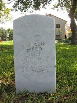 Natalie <i>Weed</i> Aloe