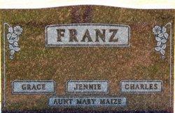 Jane W. Jennie <i>Cook</i> Franz