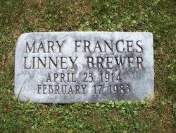 Mary Frances <i>Linney</i> Brewer