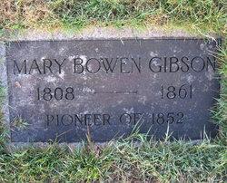 Mary Bowen <i>Porter</i> Gibson