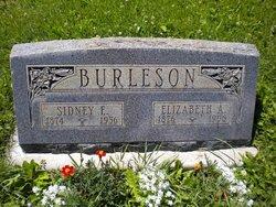 Elizabeth A. <i>Turner</i> Burleson