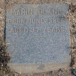 Marin Blanc