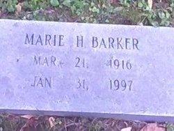 Marie H. Barker