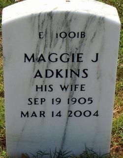Maggie <i>Jackson</i> Adkins