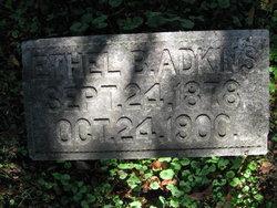 Ethel B Adkins
