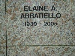 Elaine A Abbatiello