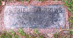 Carrie Lee Andrews