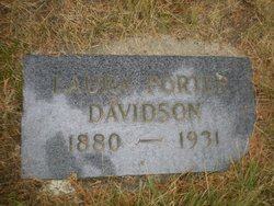 Laura <i>Porter</i> Davidson